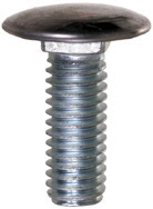 3/8-16 x 1 Inch Bumper Bolt Pan Head Capped Stainless Steel General Motors GM GM Products