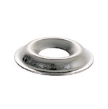 #6 Nickel Plated Steel Countersunk Finishing Washer