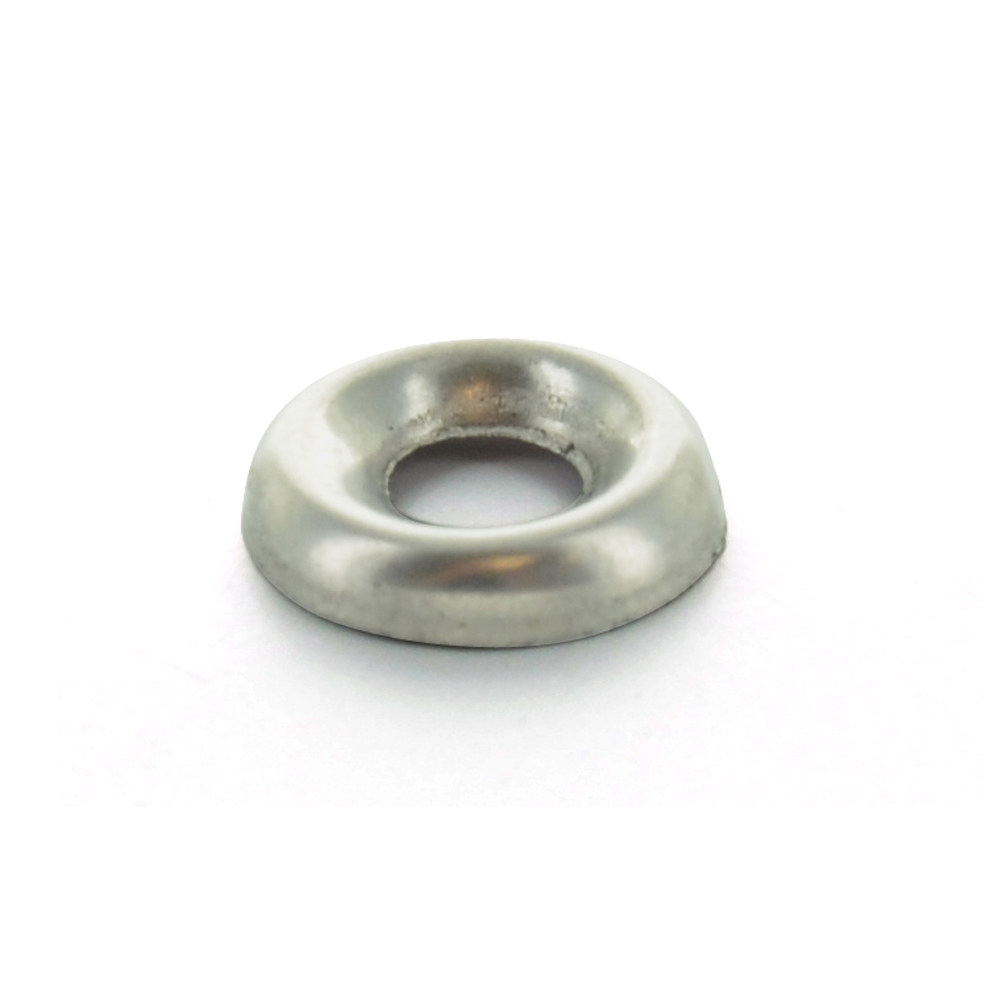 #10 18-8 Stainless Steel Flanged Finishing Cup Washer