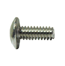 #10-32 x 3/4 Inch Fine 410 Stainless Steel Type F Point #2 Phillips Pan Head Thread Cutting Screw