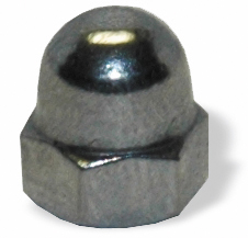 #10-24 Coarse 316 Stainless Steel Acorn Hex Cap Nut