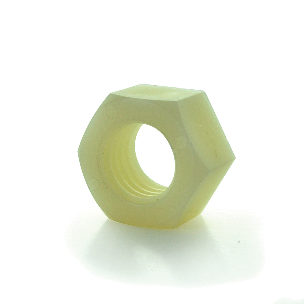 #10-32 Fine Nylon 6/6 Hex Nut