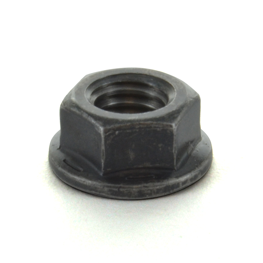 1-8 Inch Non-Serrated Coarse Black Phosphate and Oil Grade 8 Hex Flange Nut