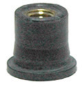 #10-24 x 0.767 Inch Neoprene With Captive Brass Well Nut