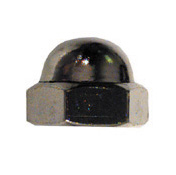 #10-24 Coarse Nickel Grade 2 Acorn Hex Cap Nut