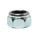 #10-24 Coarse Zinc Plated Grade 2 (Nm) Nylon Insert Lock Nut