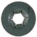 1/8 Inch Silver Metal Detent Washer Push On Retainer