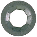 3/8 Inch Silver Metal Universal Push On Retainer