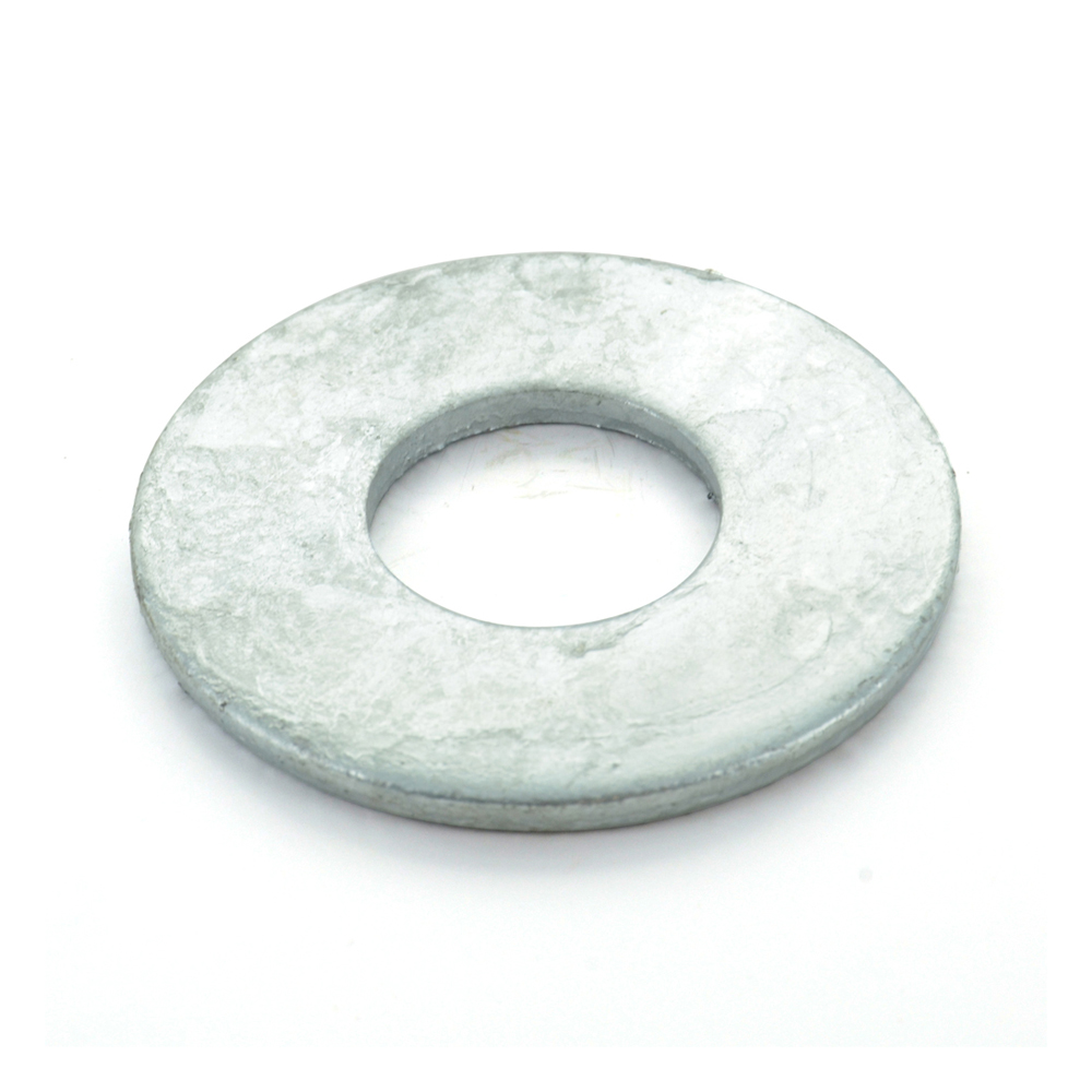 #10 Zinc Plated Grade 2 USS Flat Washer USA