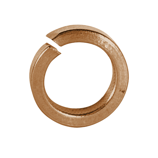 #10 Plain Silicon Bronze Split Lock Washer