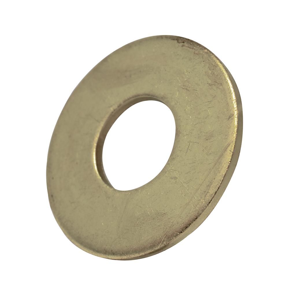 #10 Nickel Brass Flat Washer