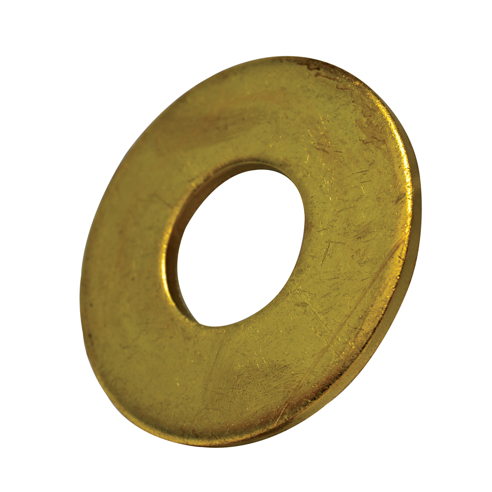 #10 Plain Brass Flat Washer