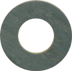 10 mm x 15.9 mm x 1 mm Vulcanized Fiber Sealing Washer