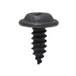 #10 x 1/2 Inch Black Phosphate Type Ab Phillips Flat Top Washer Head Tapping Screw