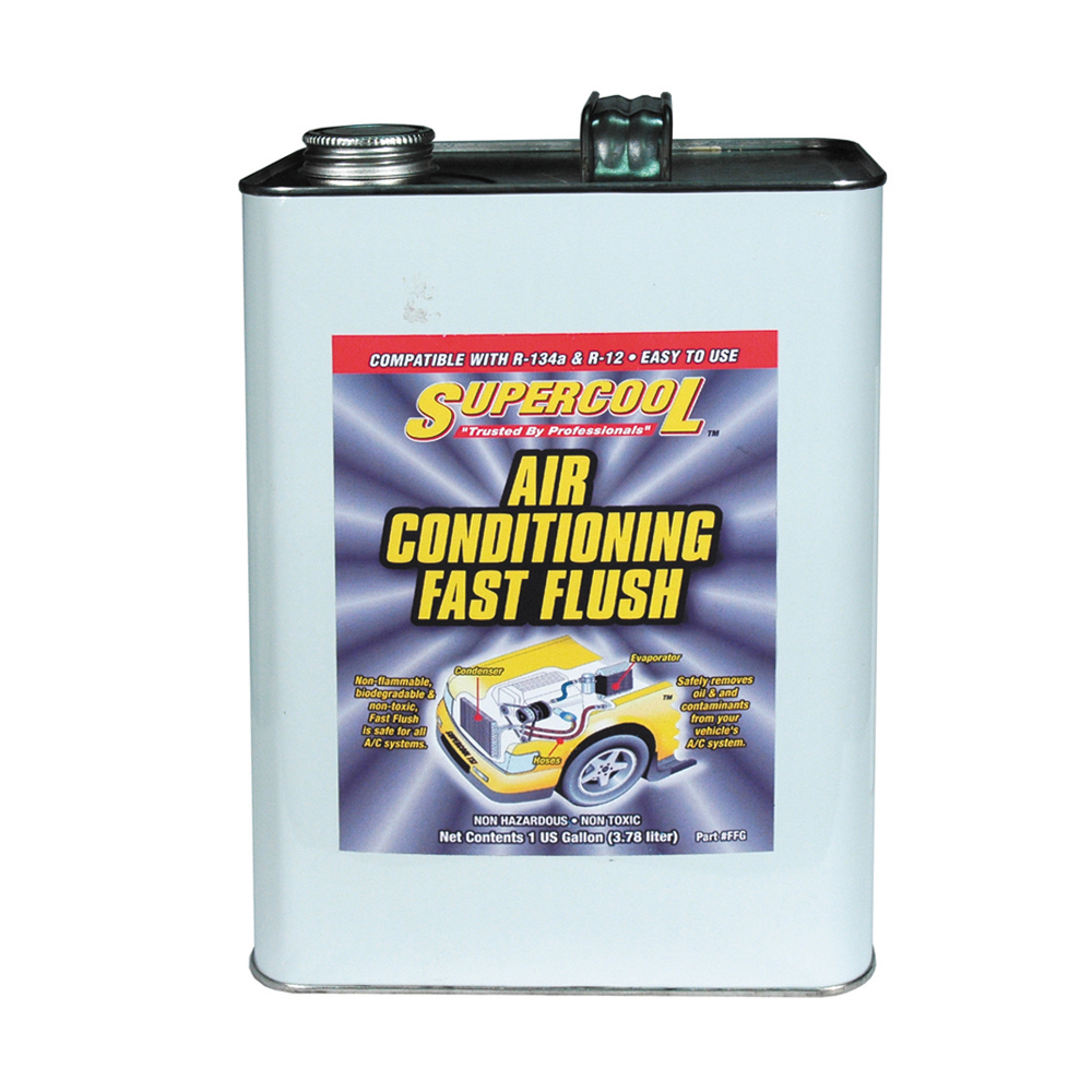 AC Air Conditioning Fast Flush Solvent Cleaner - 1 Gallon
