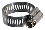 #10 Hose Clamp 9/16 Inch x 1-1/16 Inch Stainless Steel Band General Purpose