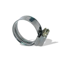 #12 Hose Clamp 13/16 Inch x 1-1/4 Inch 430 Stainless Steel Band Torro Non-Perforated