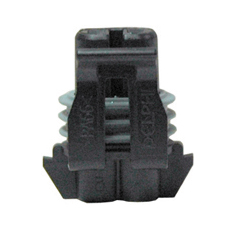 1.5 mm Blade Black Nylon Metri-Pack 150 Series Sealed Crimp 2 Way Female Connector Assembly