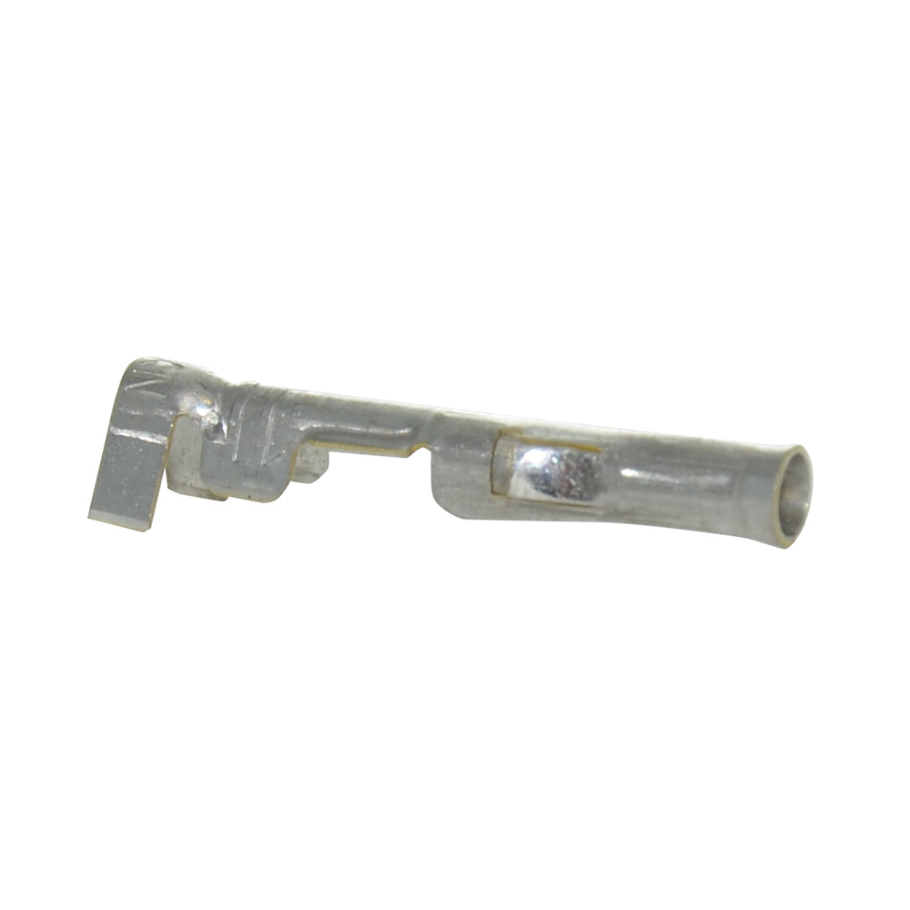 0.093 Inch Socket Crimp Terminal - Tin Plated Brass