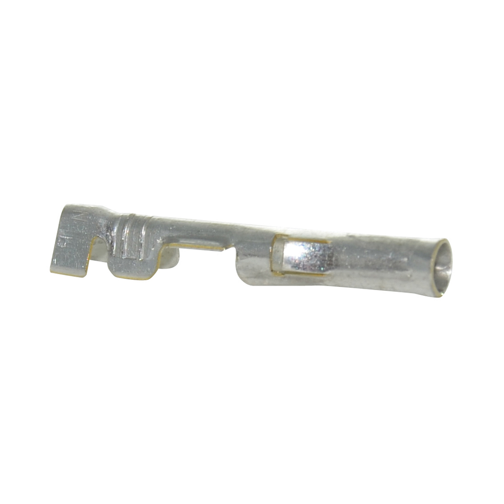 0.093 Inch Tin Plated Brass Socket Crimp Terminal