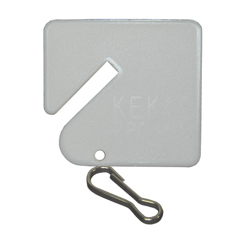 Kekab Key Tags - Plain (20 Per Pack)