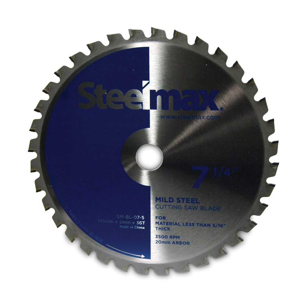 14 Inch 100 Teeth Industrial Steelmax® Metal Cutting Saw Blade