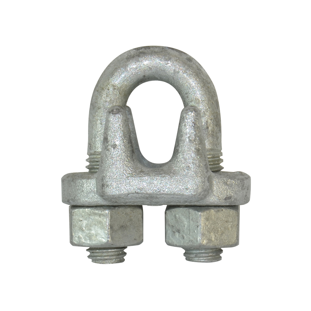 1/4 Inch Hot Galvanized Forged Steel Drop Forged Wire Rope Clip