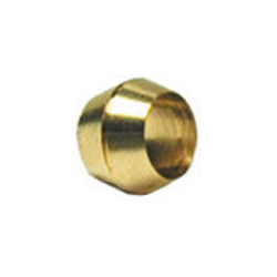 1/2 Inch Lead Free Brass Compression Tube Sleeve