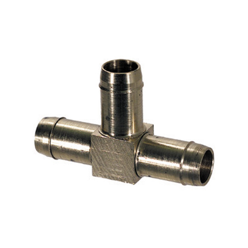 1/4 Inch Nickel Plated Brass Push-In Tube Union Elbow