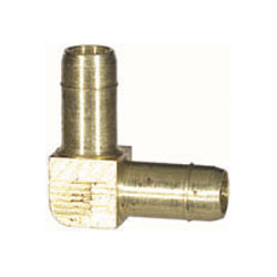1/2 Inch Nickel Plated Brass Push-In Tube Union Elbow