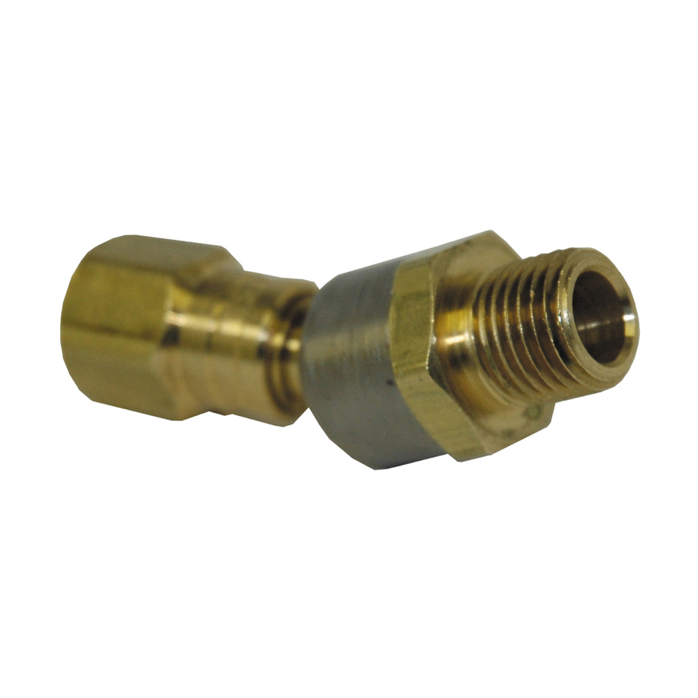 1/4 x 1/4 Ball Swivel Connector