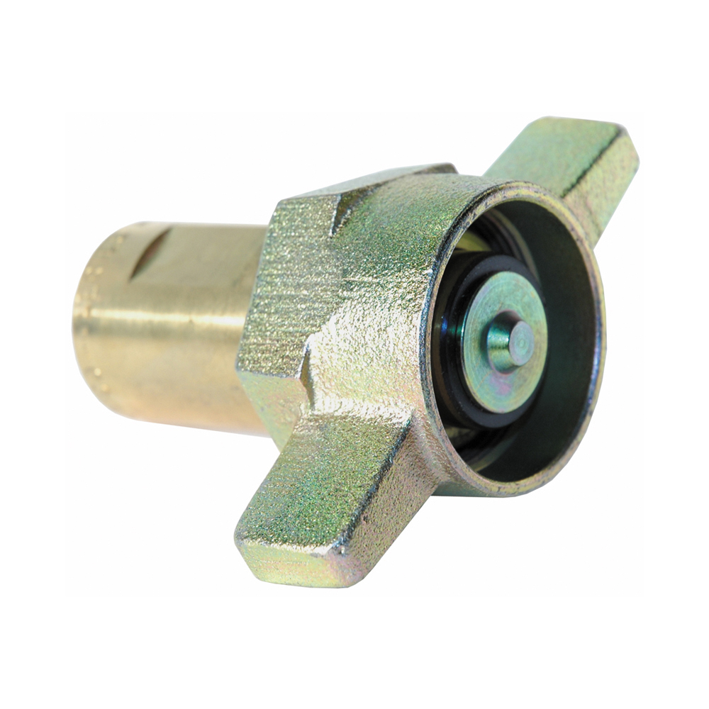 1 Series A 5100 Thread-To-Connect Under Pressure Coupler With Wings