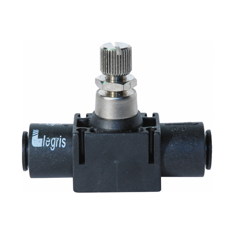 1/2 Push-To-Connect Inline Flow Control Valve