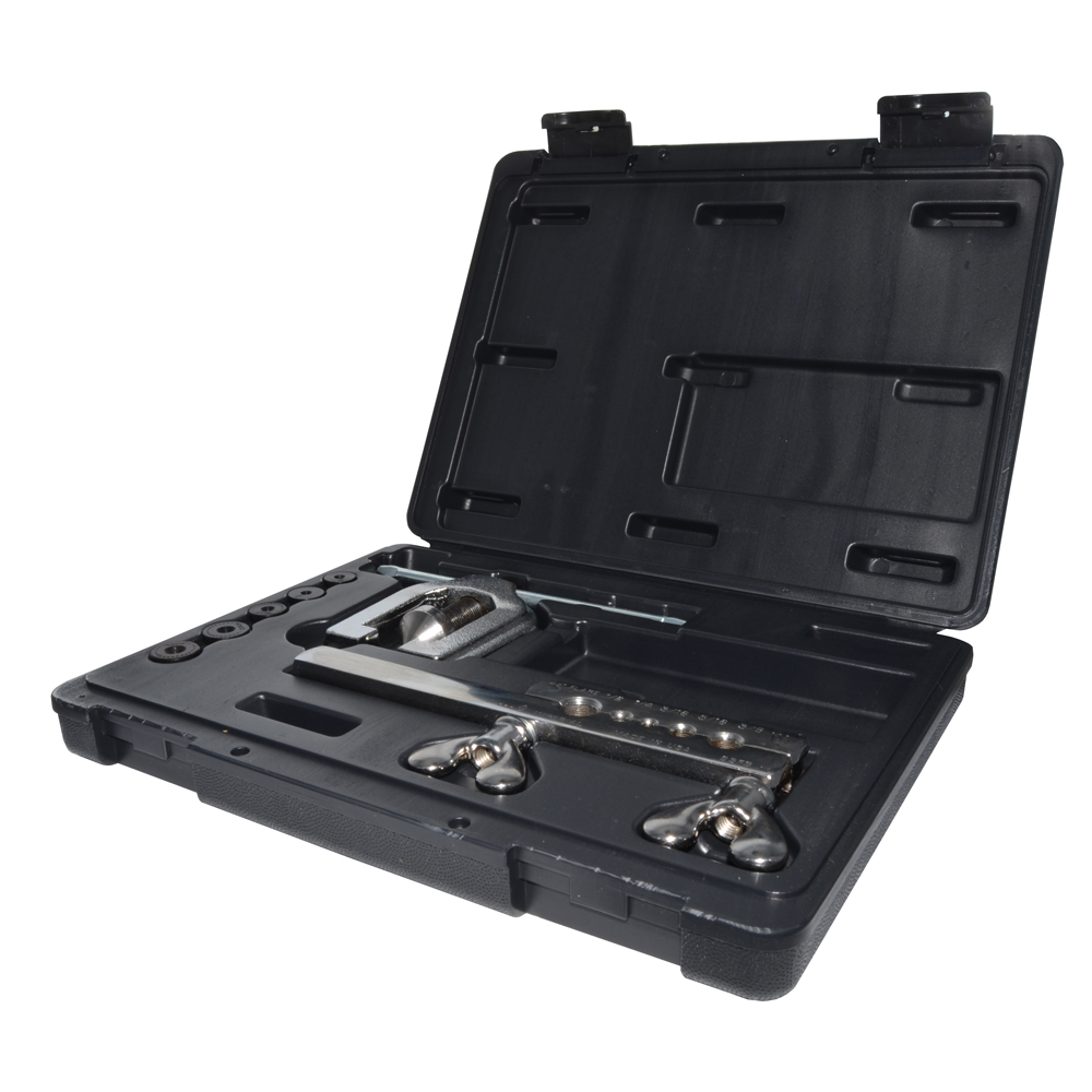 45-Degree Double Flaring Tool Kit For 3/16 Inch, 1/4 Inch, 5/16 Inch, 3/8 Inch, and 1/2 Inch O.D. Tubing