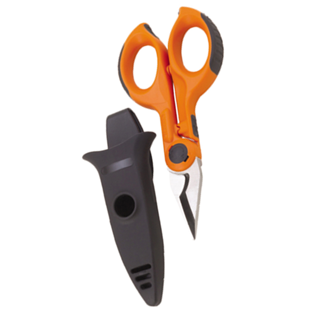 Industrial Wire Cutting Scissors with Holster