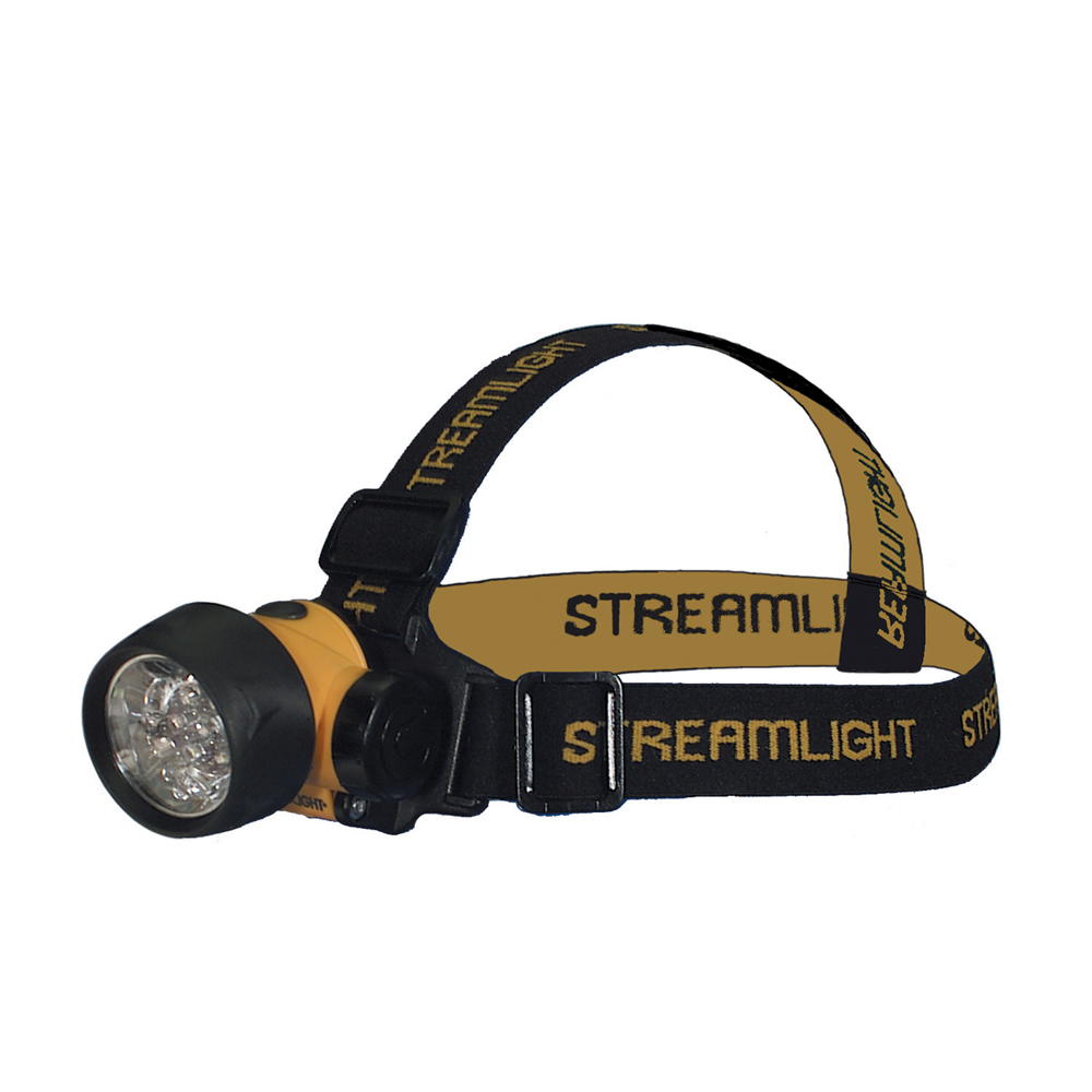 2-D Cell Septor Led Headlight Flashlight
