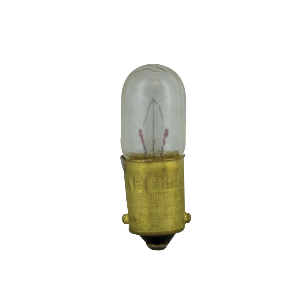 #1816 Clear Bulb Type 3 1/4 M Bayonet 13 Volts