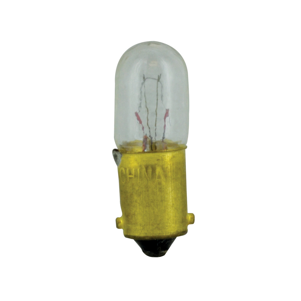 #1891 Clear Bulb Type 3 1/4 M Bayonet 14 Volts