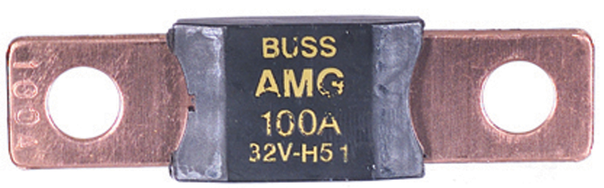 125 Amp AMG Type Fuse Green
