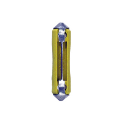 5 Amp Yellow Thermoplastic Melting-Strip Ceramic Fuse
