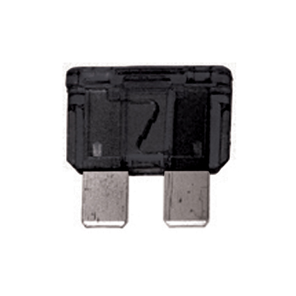 1 Amp ATO / ATC Fuse 32V Black Pack of 100