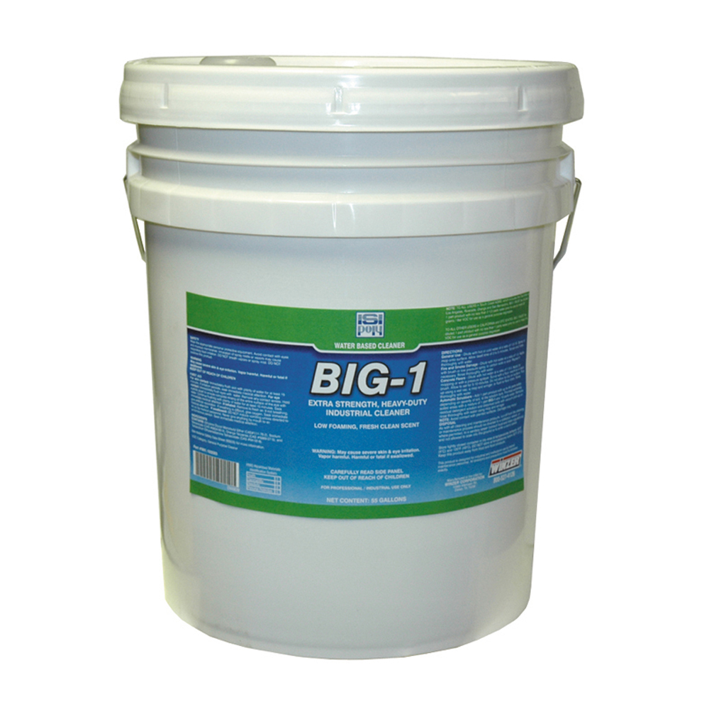 Isi-Poly Big 1 Concentrated Cleaner Degreaser - 5 Gallons