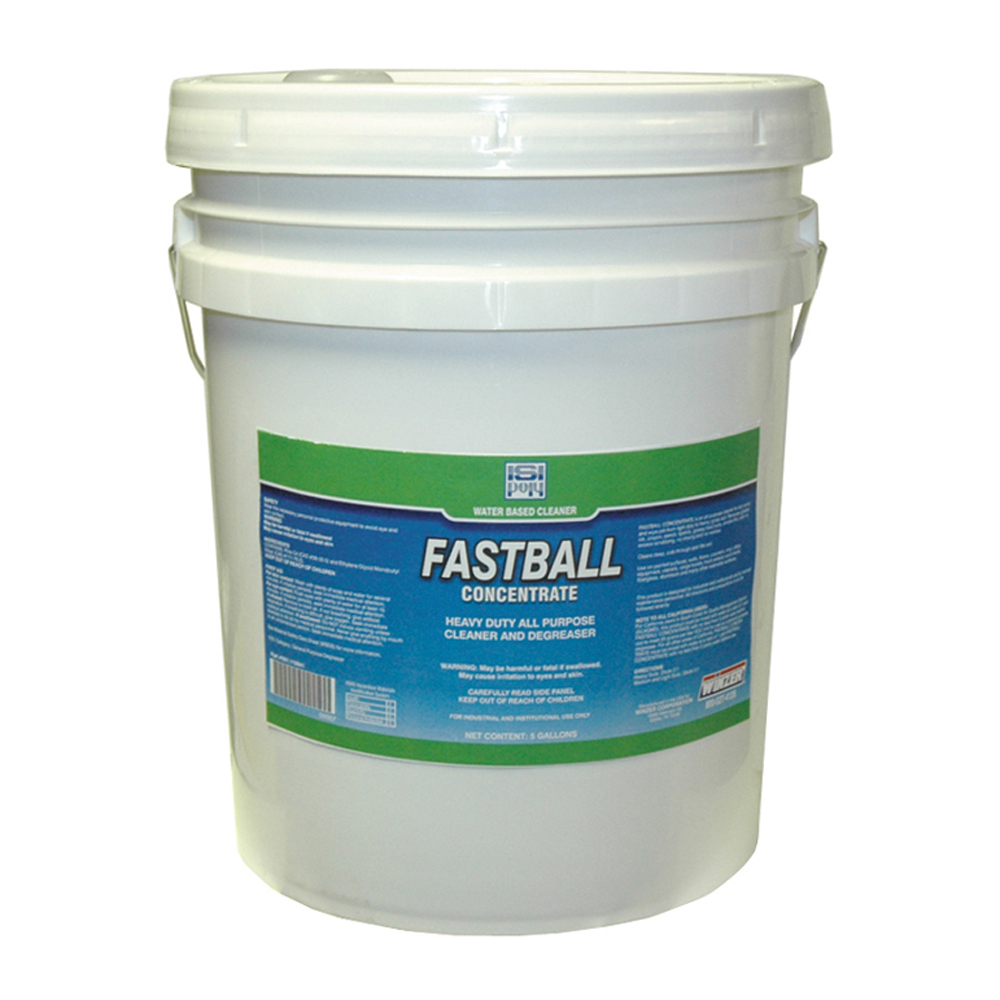 Isi-Poly Fastball Heavy Duty All Purpose Cleaner and Degreaser - 5 Gallons