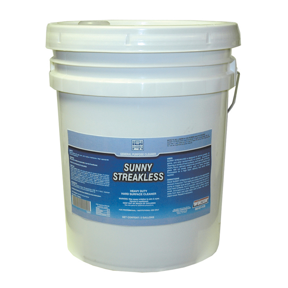 Isi Poly Sunny Streaklessgneral Purpose Cleaner  - 5 Gallons