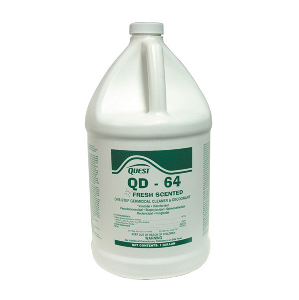 Qd-64 Disinfectant, Deodorant and Cleaner Fresh - 5 Gallons