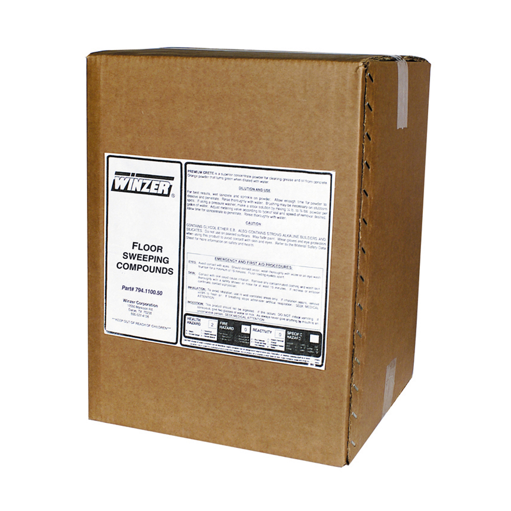50 Lb Box Premium Clean Sweep Oil Based Floor Sweeping Compounds
