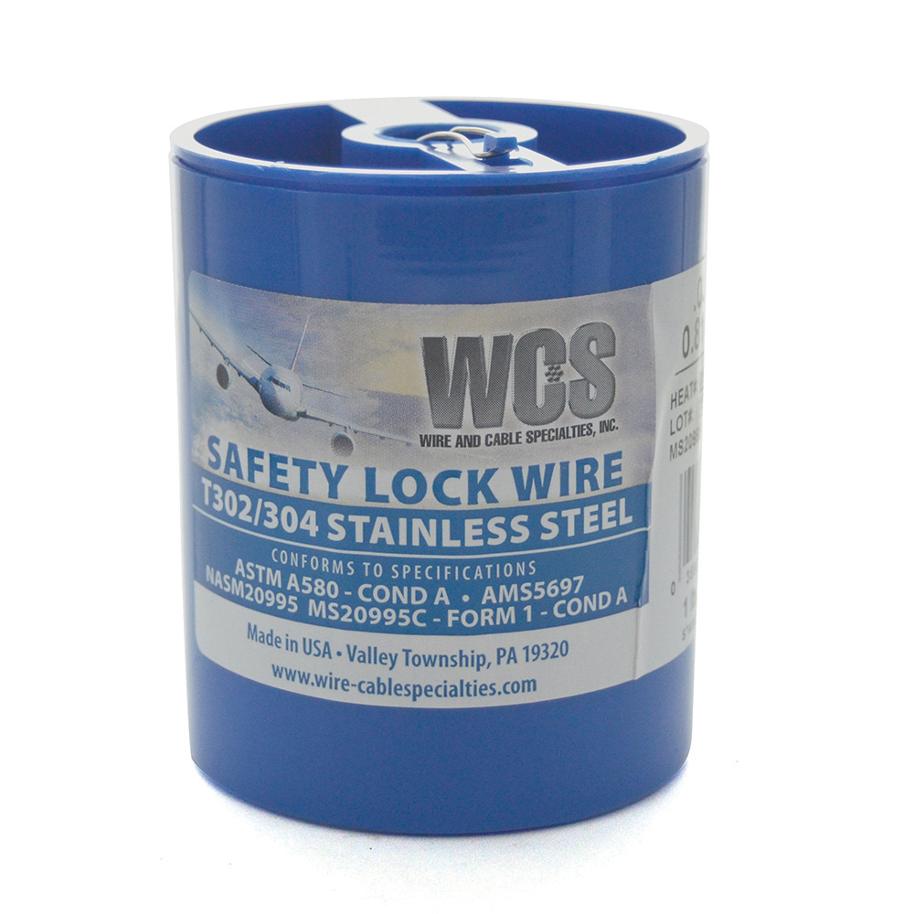 0.25 Inch x 362 ft Stainless Steel Safety/Lock Wire