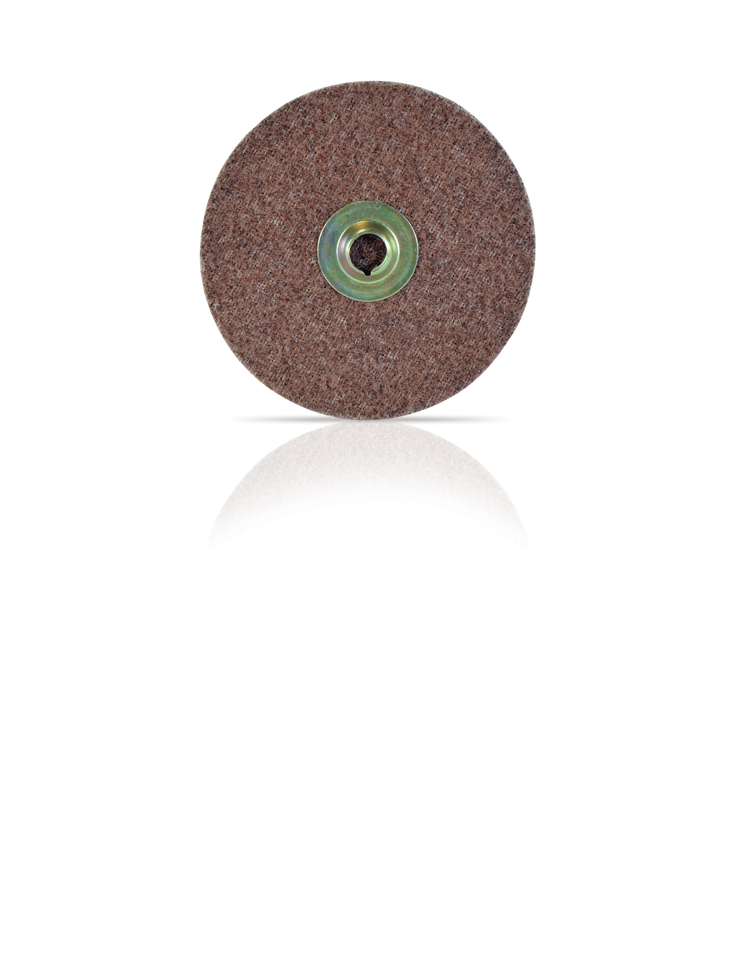 3M 5 Inch x Nh Surface Conditioning Disc Coarse Grit Brown Aluminum Oxide Pack of 10.