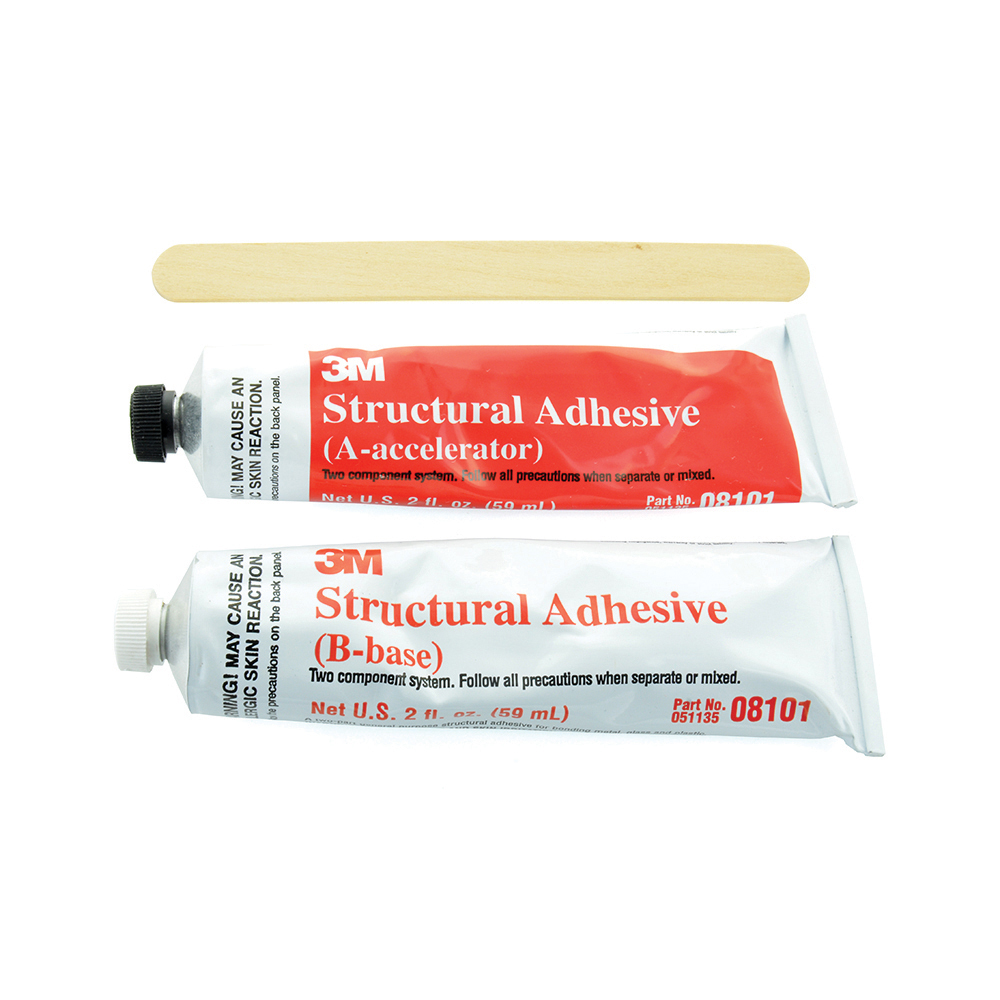 3M 2 Fl oz Structural Adhesive Kit Gray