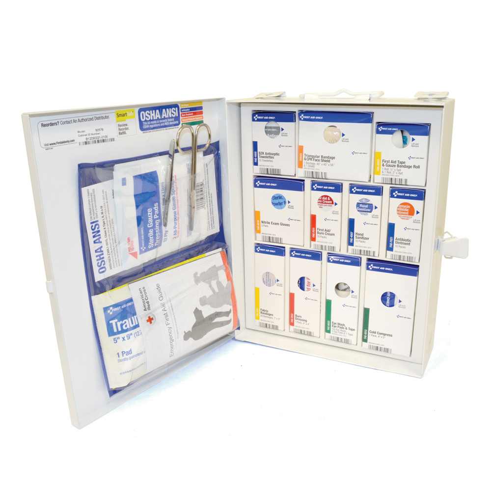25 Person Smart Compliance First Aid Kit